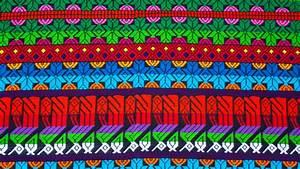 Estampados típicos de Chimaltenango