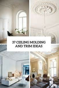 Diy Bathroom Decorating Ideas 37 Ceiling Trim And Molding Ideas To Bring Vintage Chic Shelterness