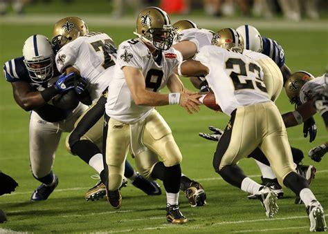 Drew Brees In Super Bowl Xliv Zimbio