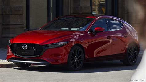 Mazda 3 Hatchback Wallpaper by 2019 Mazda3 Hatchback Front Three Quarter Hd Wallpaper 1