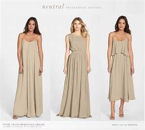 dark beige bridesmaid dresses wwwpixsharkcom images With tan wedding dress