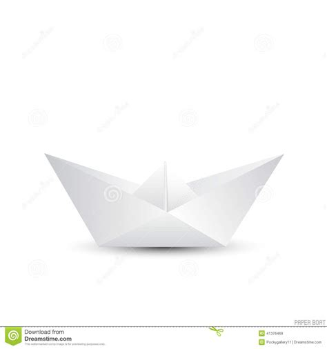 Imagenes De Barcos En Papel by Barco De Papel De La Papiroflexia En Blanco Ilustraci 243 N