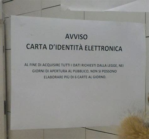 Comune Di Aversa Ufficio Anagrafe San Nicola La Strada Carta D Identit 224 Elettronica Cie