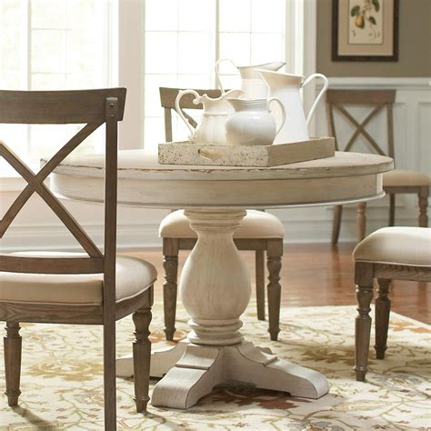 Riverside Dining Room Round Dining Table Pedestal 21252