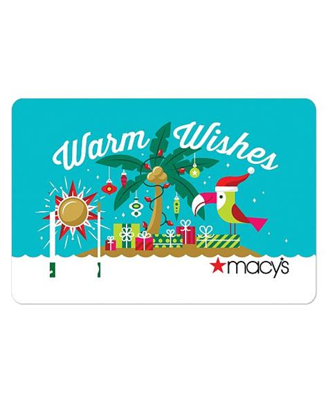 You can get your choice of physical or email gift card, so you can pick between presentation or convenience as well as to your own individual budget. Macy's Warm Wishes E-Gift Card & Reviews - Gift Cards - Macy's