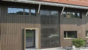 Holzfassade Welches Holz : holzfassade strebel holzbau holzbau innenausbau architektur ~ Yasmunasinghe.com Haus und Dekorationen