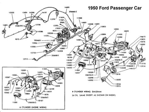 1950 Shoebox Ford Headlight Switch Wiring Diagram by Wiring Diagram For 1950 Ford Wiring Ford