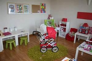 Idée Rangement Salle De Jeux : id e d coration salle de jeux rouge ~ Zukunftsfamilie.com Idées de Décoration