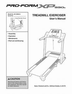 Treadmill Owner U0026 39 S Manual