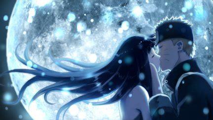anime, Uzumaki Naruto, Hyuuga Hinata, kissing   1920x1080 Wallpaper - wallhaven.cc