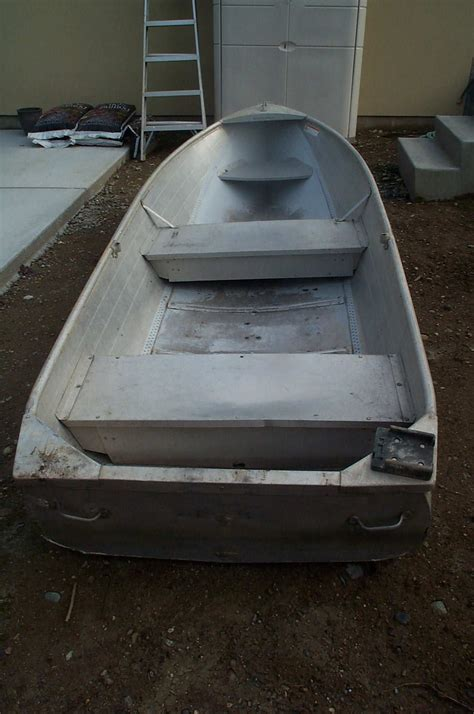 Row Boat Jet Boat by 12 Aluminum Row Boat Sold Northwest Fishing Reports