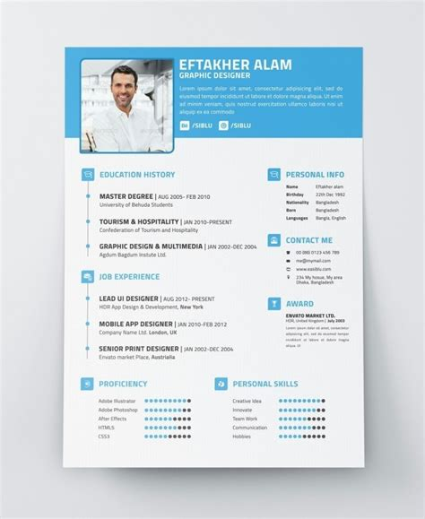 modern curriculum vitae format resume cover letter
