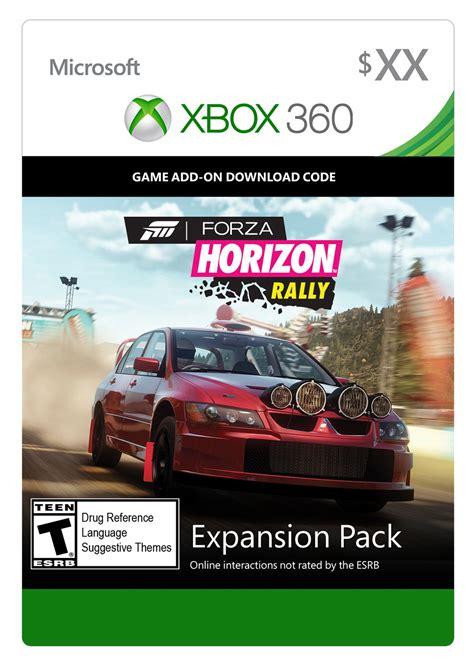 forza horizon 4 xbox 360 forza horizon rally expansion pack digital for xbox 360 gamestop