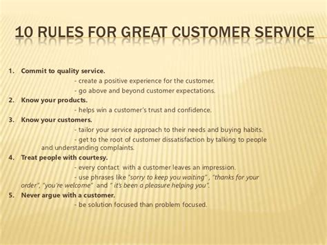What Does Great Customer Service To Me by Customer Service 1 Work Great Customer
