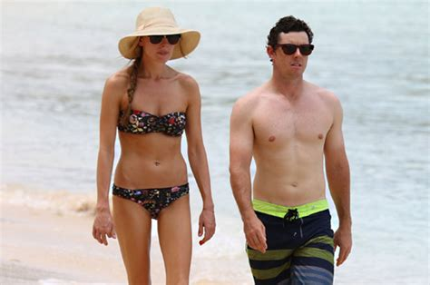 rory mcilroy wife meet erica stoll  gorgeous blonde