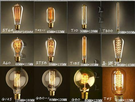 40w vintage edison bulb diy handmade e27 retro