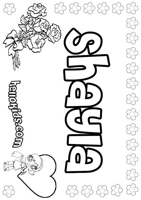 shayla coloring pages hellokidscom