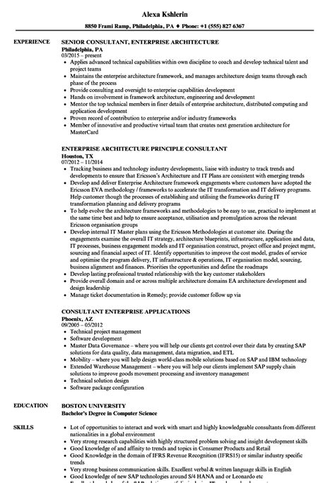 Implementation Consultant Resume by Enterprise Consultant Resume Sles Velvet