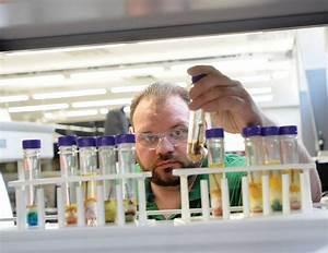 Stevenson science teacher reviews materials at workshop