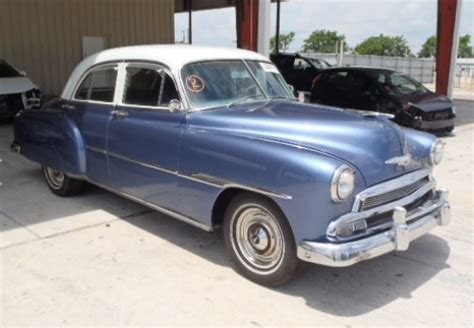 Seller Submission 1951 Chevrolet Deluxe Sedan  Bring A