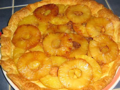 tarte a l ananas mince alors