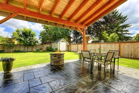 Best Backyard Patios by Armor Ar500 Solvent Based High Gloss Acrylic Concrete
