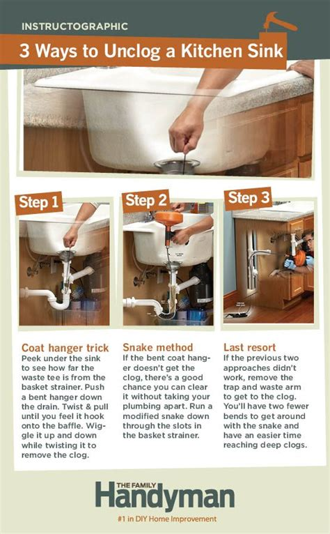 ways to unclog a sink pinterest the world s catalog of ideas