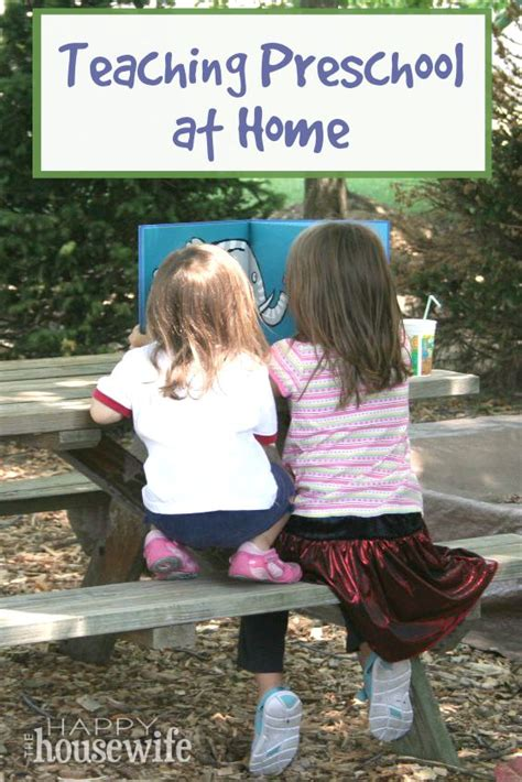 teaching preschool at home the happy home 572 | Preschool at Home v