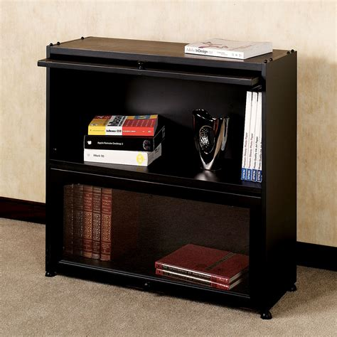 black bookcase with doors auston black bookcase with glass doors