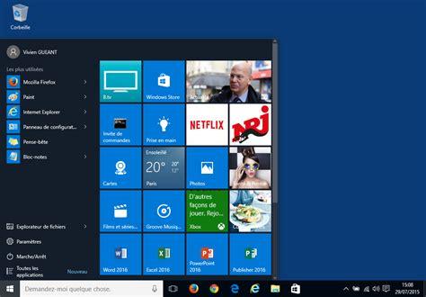 image bureau windows bureau 3d windows 10 windows 10 les dix logiciels