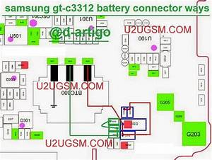 Samsung C3312 Duos Battery Terminal Connector Problem