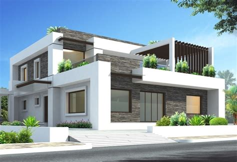 terrace house exterior design Archives - Home Design