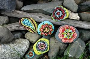 Steine Bemalen Farbe 1001 Ideen F R Steine Bemalen Dekoration F R