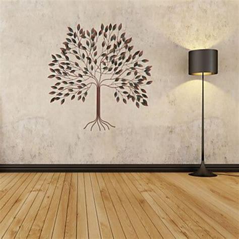d 233 coration murale de style contemporain en forme arbre en m 233 tal