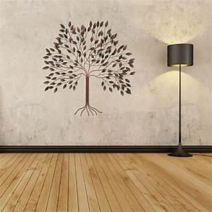 Décoration Murale En Métal : d coration murale de style contemporain en forme arbre en m tal ~ Teatrodelosmanantiales.com Idées de Décoration