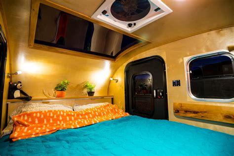 caravane 2 chambres timberleaf teardrop cer trailer