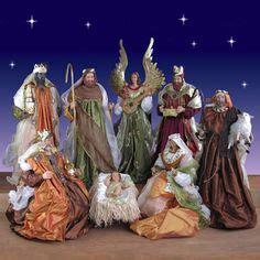 images  life size nativity sets  pinterest