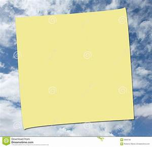 post it note on sky background stock photo image 5684746 With letter shaped post it notes