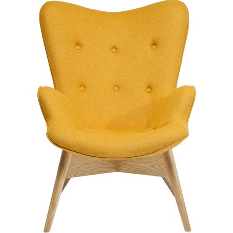 acheter chaise de bureau fauteuil scandinave jaune wings eco kare design