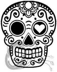 Sugar Skull Pumpkin Stencils Free by Sugar Skull Stencil Ideal Stencils Http Www