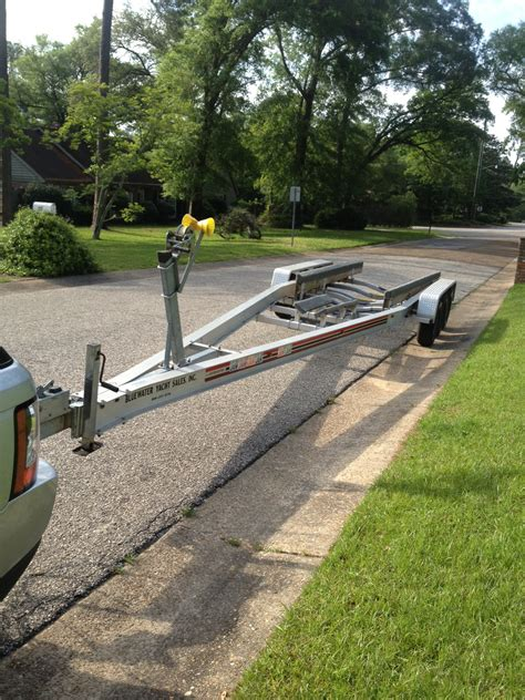 Used Boat Trailers Mobile Al by 2004 Loadmaster Axle Trailer Sold The Hull