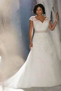plus size discount wedding dresses pluslookeu collection With inexpensive plus size wedding dresses