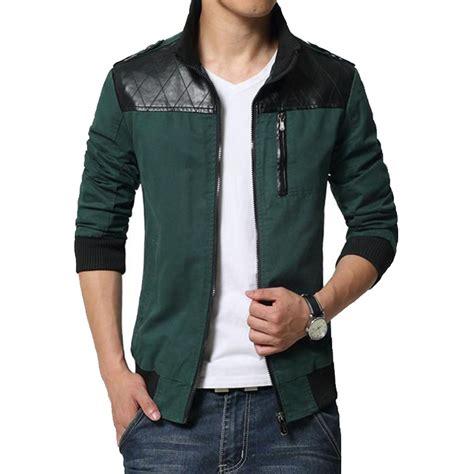 s designer clothing 2016 new fashion brand jacket trend patchwork pu