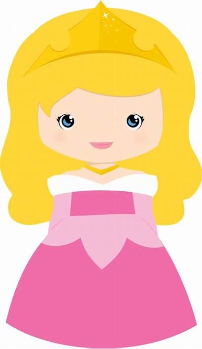 Princess Disney Clip Clipart Aurora Princesses Toddler