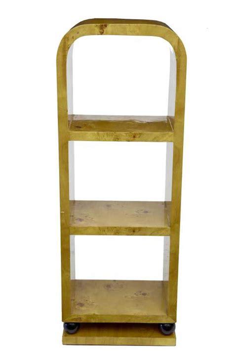 deco shelving art deco bookcase shelf unit blonde walnut vintage interiors