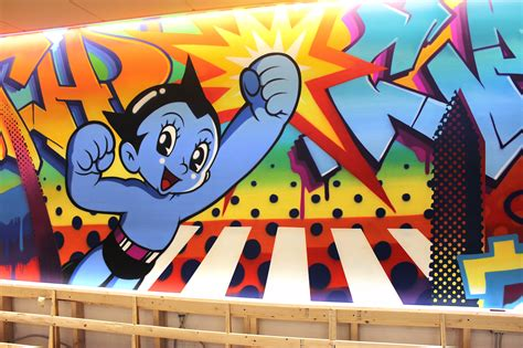 earthcam graffiti mural  custom mural specialists