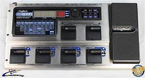 Digitech Rp2000 Guitar Multi  Manual