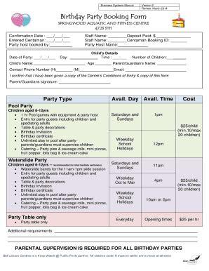 birthday party invitation letter edit fill  print