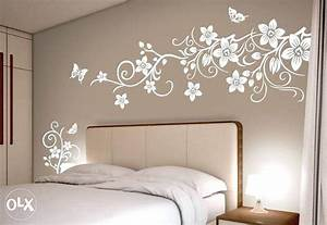 paint templates for walls - modern living room wall painting stencil modern home