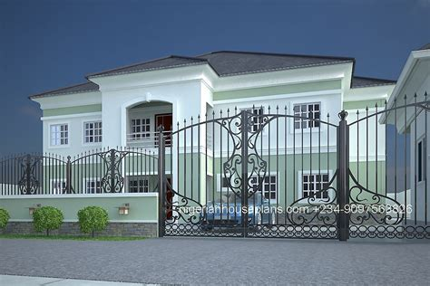 5 Bedroom Duplex House Plans In Nigeria - Escortsea